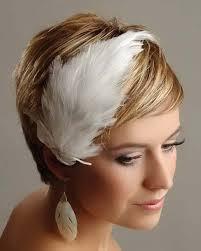 Svadobné účesy pre krátke vlasy - Obrázok č. 13