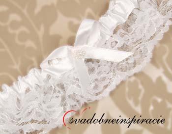 Čipkované svadobné podväzky - Obrázok č. 1
