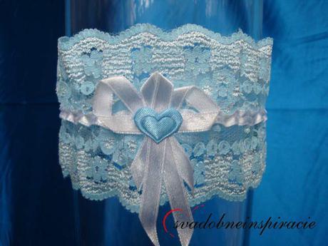 Čipkované svadobné podväzky - Obrázok č. 3