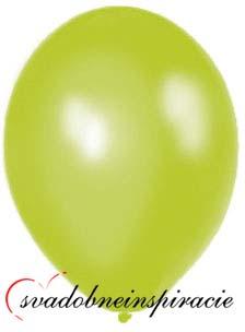 Perleťové balóniky - jablkovozelené - Obrázok č. 1