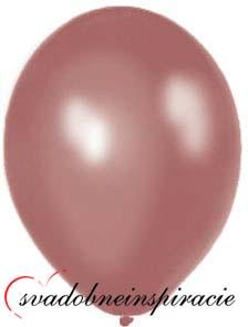 Perleťové balóniky - Cappucino (20 ks za 2,20 Eur) - Obrázok č. 1