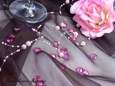 Diamantíky malé - fuchsia - 100 ks - Obrázok č. 1