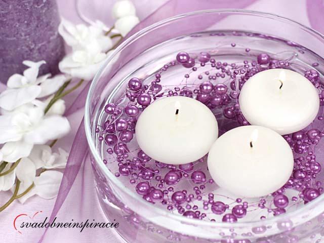 Perličkové girlandy na Vašu svadobnú výzdobu - Obrázok č. 1