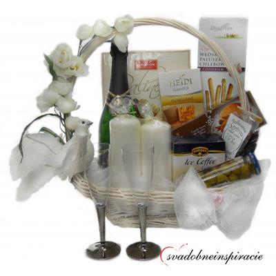 Luxusné darčekové koše - super tip na svadobný dar - Obrázok č. 1