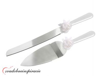 Lopatka a nôž na krájanie svadobnej torty - Obrázok č. 2