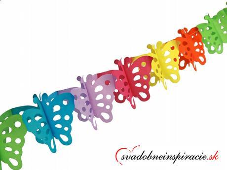 Girlanda z motýlikov (3 m) - Obrázok č. 1