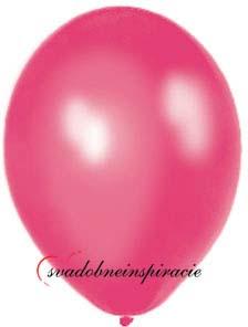 Perleťové balóniky - cyklamen (25 ks za 2,50 Eur) - Obrázok č. 1