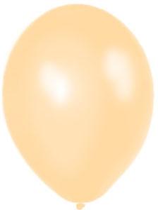 Perleťové balóniky - Lososové (20 ks za 2,20 Eur) - Obrázok č. 1