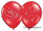 "Balóny ""IN LOVE"" - Červené (10 ks) ,"