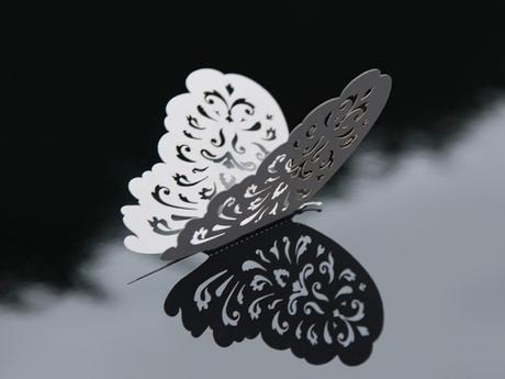 Dekoračné motýliky (10 ks) - Obrázok č. 1