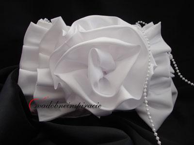 Svadobná kabelka CARMELLA - Obrázok č. 1