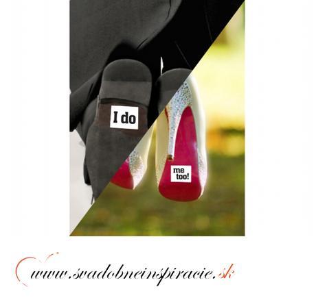 """Nálepky na topánky """"I DO - ME TOO"""" (2 ks) - Obrázok č. 2"""
