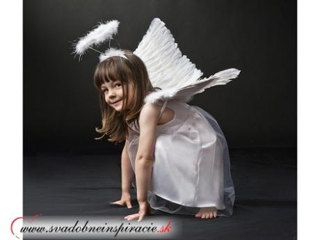 Dievčenské šatočky anjelik (92-98 cm) - Obrázok č. 1