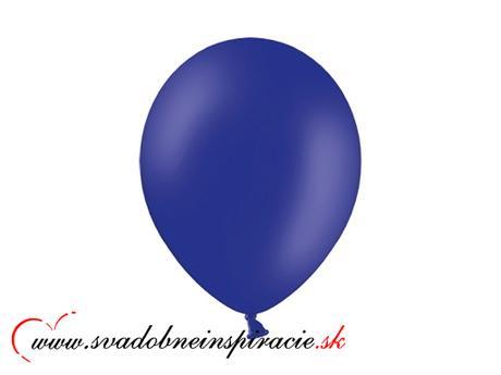Balóny perleťové - Tmavomodré - Obrázok č. 1