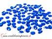 Dekoračné kamienky - Diamantíky malé (modré), 100 ,