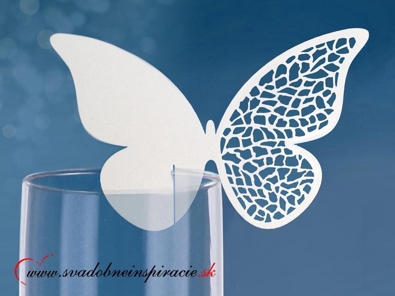 Menovky - motýlik (10 ks) - Obrázok č. 1