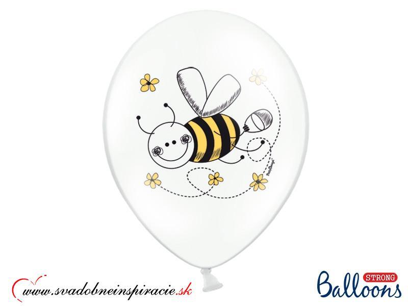 """Balóny """"VČIELKY"""" (6ks) - Obrázok č. 2"""