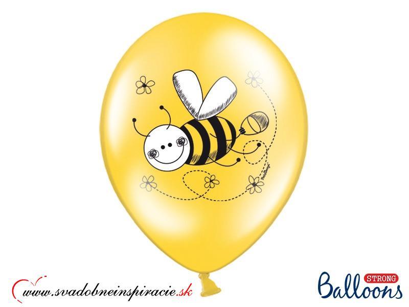 """Balóny """"VČIELKY"""" (6ks) - Obrázok č. 3"""