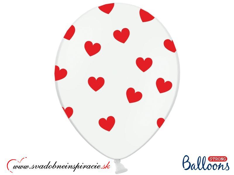 """Balóny """"SRDIEČKA"""" (10 ks) - Obrázok č. 1"""