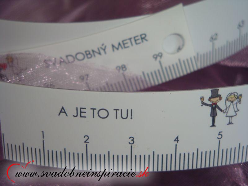 Svadobný meter - Obrázok č. 2