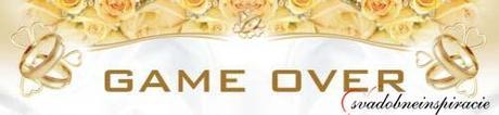 """Svadobná ŠPZ """"GAME OVER"""" - Obrázok č. 1"""