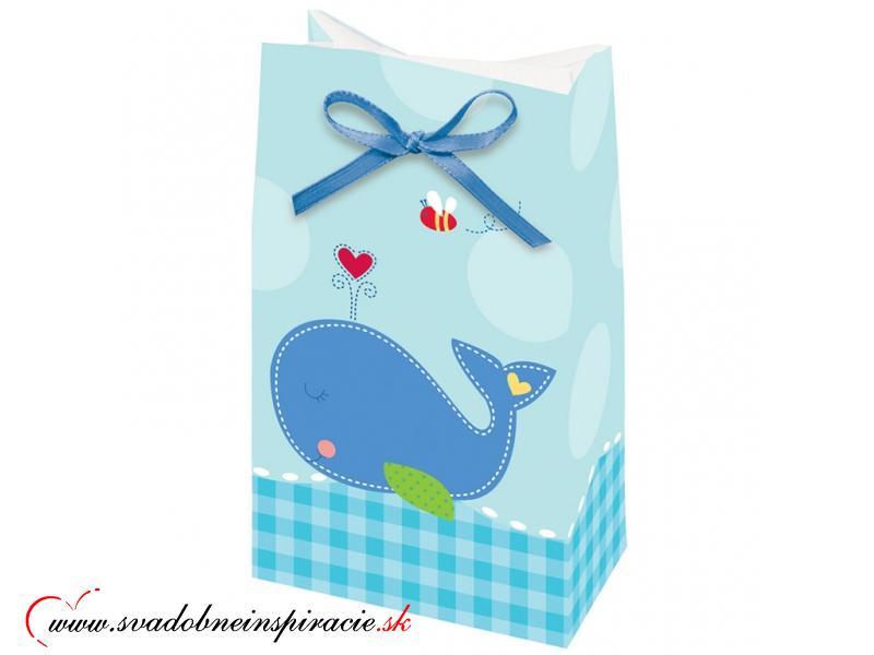 Darčekové tašky Ružové (12 ks) - Obrázok č. 1