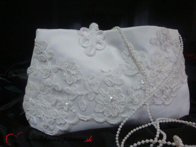 Svadobná kabelka NICOLETTA - Obrázok č. 2