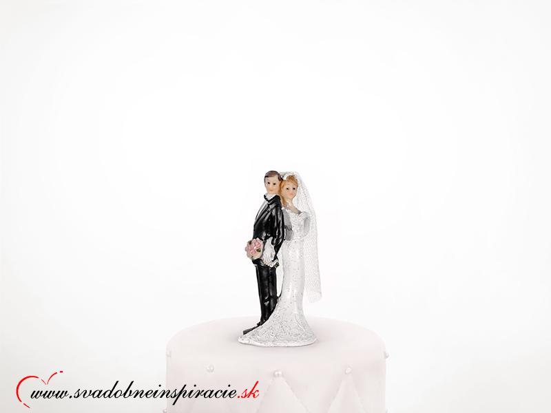 Postavička na svadobnú tortu - Obrátený párik - Obrázok č. 1