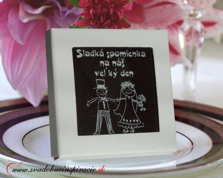 Svadobná čokoládka v kartóniku - Obrázok č. 3
