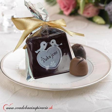 """Svadobná čokoládka """"Tablička"""" - aj s Vašimi menami - Obrázok č. 2"""