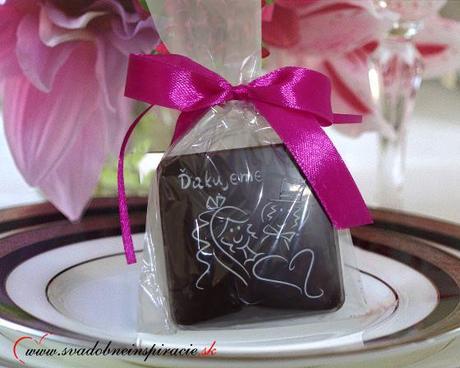 """Svadobná čokoládka """"Tablička"""" - aj s Vašimi menami - Obrázok č. 3"""