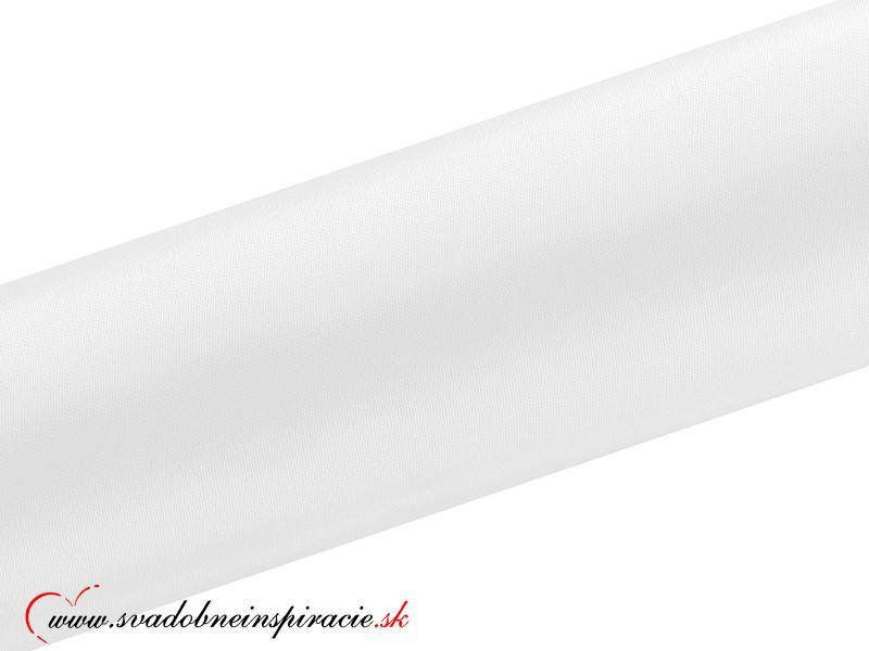 Satén v rolke - Biely (0,16x9 m) - Obrázok č. 2