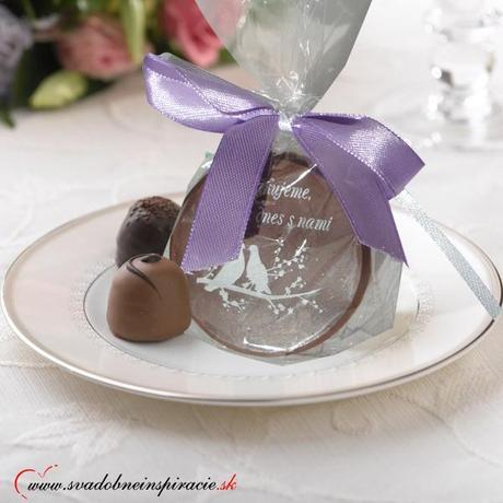 """Svadobné čokoládky """"Dukátik"""" - aj s Vašimi menami  - Obrázok č. 3"""