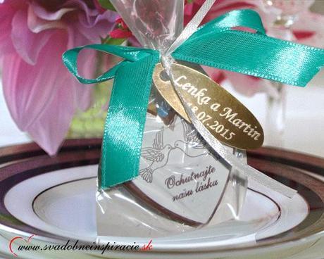 """Svadobné čokoládky """"SRDIEČKO"""" - aj s Vašimi menami - Obrázok č. 3"""