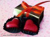 Mini čokoládová bonboniérka,