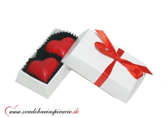 Mini čokoládová bonboniérka - Obrázok č. 3