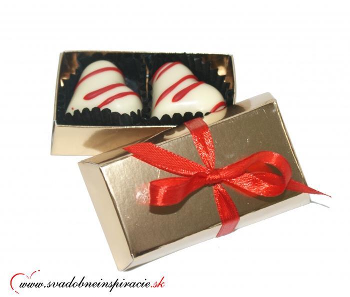Mini čokoládová bonboniérka - Obrázok č. 4