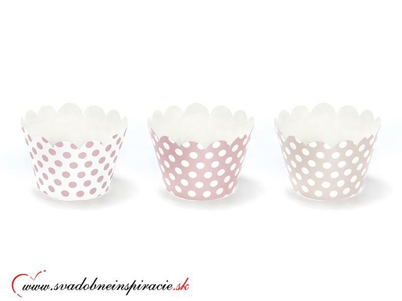 Košíčky na cupcakes/muffiny (6 ks) - Obrázok č. 1