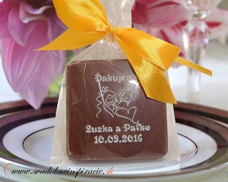 """Svadobná čokoládka """"TABLIČKA"""" - PERSONALIZOVANÁ - Obrázok č. 2"""