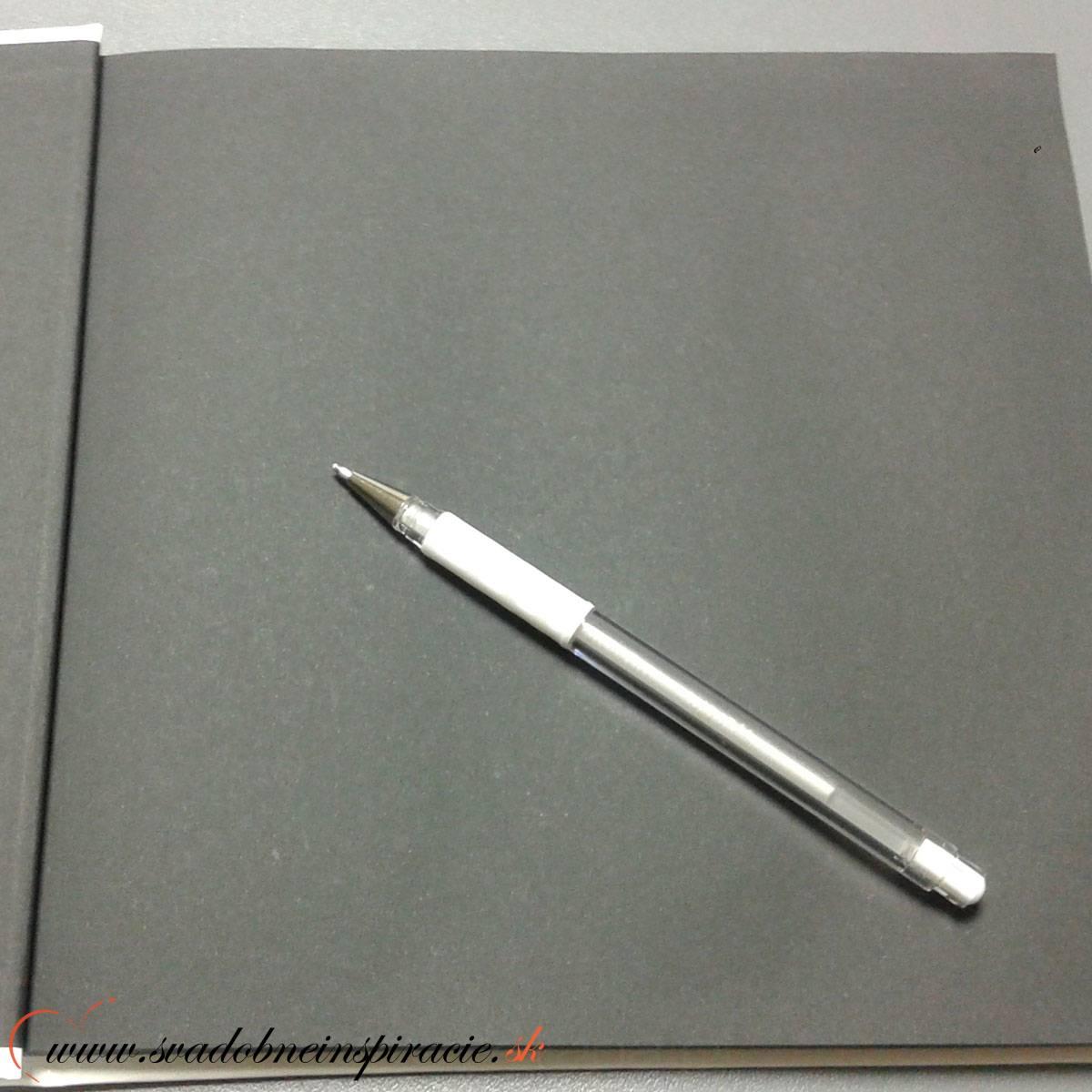 Pero gélové - BIELE - Obrázok č. 1