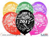 Balóny perleťové 2017 - MIX FARIEB (20ks),