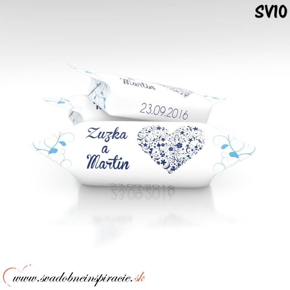Svadobné krovky Personalizované (1 kg) - Obrázok č. 4