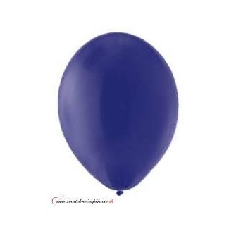 Balóny pastelové - TMAVOMODRÉ (20 ks) - Obrázok č. 1