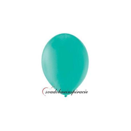 Balóny pastelové - TYRKYSOVOZELENÉ (20 ks)  - Obrázok č. 1