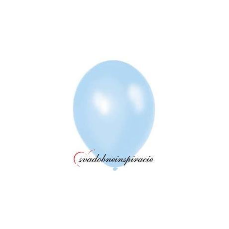 Balóny perleťové - SVETLOMODRÉ (20 ks)  - Obrázok č. 1