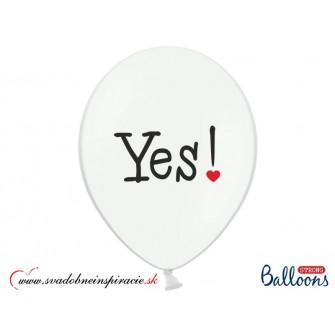 "Balóny ""WILL YOU MARRY ME"" - Biele (6 ks) - Obrázok č. 2"