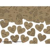 Confetti - Srdiečka NATURAL (3 g) ,