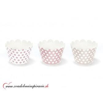 """Košíčky na CUPCAKES """"Sweets"""" (6 ks) - Obrázok č. 1"""