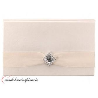 Krabička na peňažný dar pre novomanželov SMOTANOVÁ - Obrázok č. 1