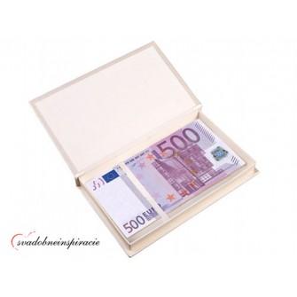 Krabička na peňažný dar pre novomanželov SMOTANOVÁ - Obrázok č. 2